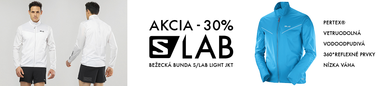 AKCIA 30% Salomon SLAB light jkt M transcendent blue