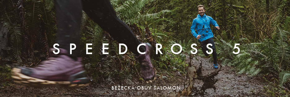 bezecka trailova obuv salomon speedcross 5 do lesa prirody