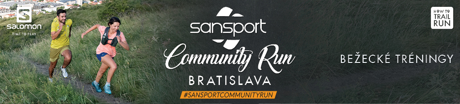 Bezecky trening Salomon - Sansport Community Run