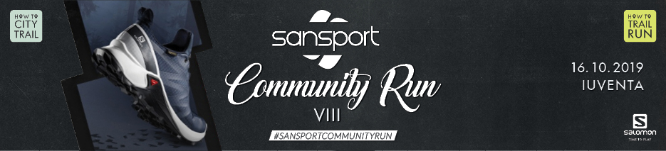 Sansport Community Run 8 - Salomon workshop - testovanie SUPERCROSS