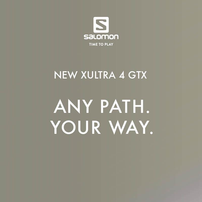 Novinka Salomon X Ultra 4 GTX - Pánska turistická obuv
