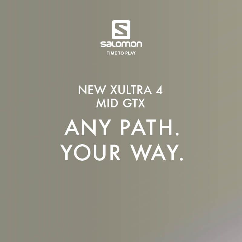 Novinka Salomon X Ultra 4 MID GTX - Turistická obuv