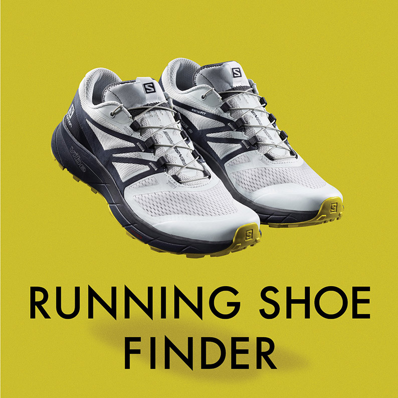 salomon running shoe finder sansport