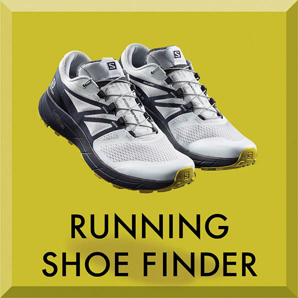 Salomon running shoe finder